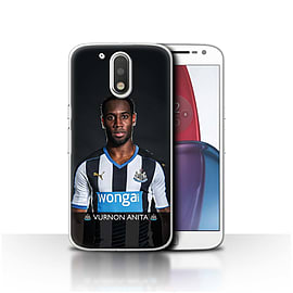Official NUFC Case/Cover for Motorola Moto G4 Plus 2016/Anita Design/NUFC Football Player 15/16 Mobile phones