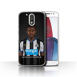 Official NUFC Case/Cover for Motorola Moto G4 Plus 2016/Mbemba Design/NUFC Football Player 15/16 Mobile phones