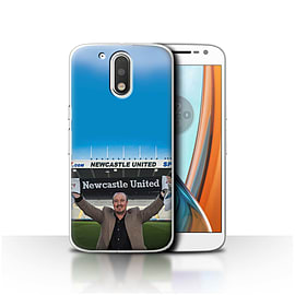 Official Newcastle United FC Case/Cover for Motorola Moto G4 2016/Welcome Design/NUFC Rafa Ben?tez Mobile phones