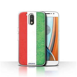 STUFF4 Case/Cover for Motorola Moto G4 2016 / Hungary/Hungarian Design / Flags Collection Mobile phones