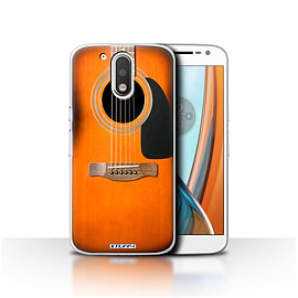 STUFF4 Case/Cover for Motorola Moto G4 2016 / Sunburst Acoustic Design / Guitar Collection Mobile phones