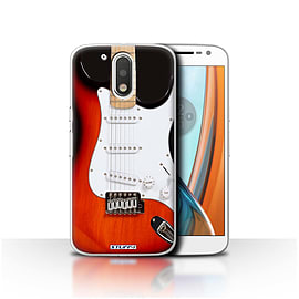 STUFF4 Case/Cover for Motorola Moto G4 2016 / Red Electric Design / Guitar Collection Mobile phones