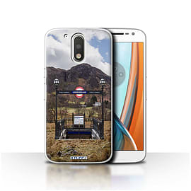 STUFF4 Case/Cover for Motorola Moto G4 2016 / Subway Design / Imagine It Collection Mobile phones