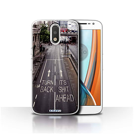 STUFF4 Case/Cover for Motorola Moto G4 2016 / Turn Back Design / Imagine It Collection Mobile phones