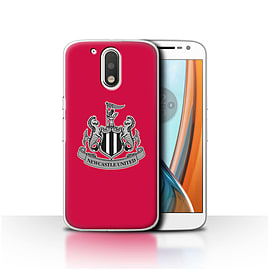 Newcastle United FC Case/Cover for Motorola Moto G4 2016/Mono/Red Design/NUFC Football Crest Mobile phones