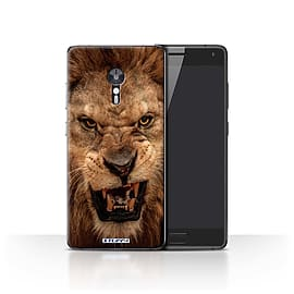 STUFF4 Case/Cover for Lenovo ZUK Z2 Pro / Lion Design / Wildlife Animals Collection Mobile phones