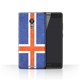 STUFF4 Case/Cover for Lenovo ZUK Z2 Pro / Iceland/Icelandic Design / Flags Collection Mobile phones