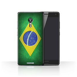 STUFF4 Case/Cover for Lenovo ZUK Z2 Pro / Brazil/Brazilian Design / Flags Collection Mobile phones