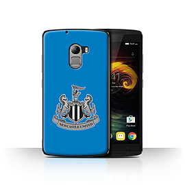 Official Newcastle United FC Case/Cover for Lenovo Vibe K4 Note/Mono/Blue Design/NUFC Football Crest Mobile phones