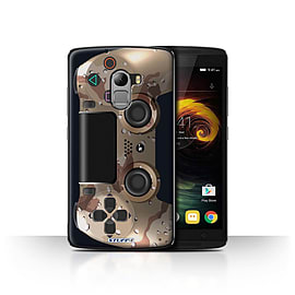 STUFF4 Case/Cover for Lenovo Vibe K4 Note / Desert Camouflage Design / Playstation PS4 Collection Mobile phones