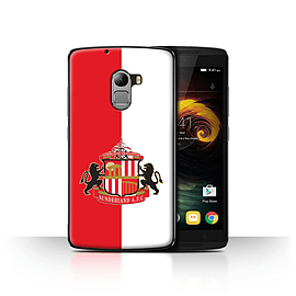 Official Sunderland AFC Case/Cover for Lenovo Vibe K4 Note/Red/White Design/SAFC Football Club Crest Mobile phones