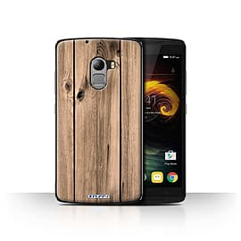 STUFF4 Case/Cover for Lenovo Vibe K4 Note / Plank Design / Wood Grain Effect/Pattern Collection Mobile phones