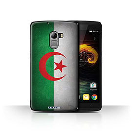STUFF4 Case/Cover for Lenovo Vibe K4 Note / Algeria/Algerian Design / Flags Collection Mobile phones