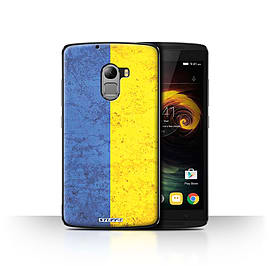 STUFF4 Case/Cover for Lenovo Vibe K4 Note / Ukraine/Ukrainian Design / Flags Collection Mobile phones