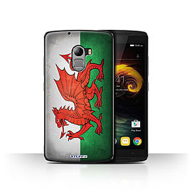 STUFF4 Case/Cover for Lenovo Vibe K4 Note / Wales/Welsh Design / Flags Collection Mobile phones