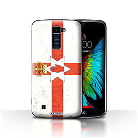 STUFF4 Case/Cover for LG K10 /K420/K430 / Northern Ireland Design / Flags Collection Mobile phones