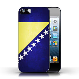 STUFF4 Case/Cover for Apple iPhone SE / Bosnia & Herzegovina Design / Flags Collection Mobile phones