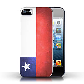 STUFF4 Case/Cover for Apple iPhone SE / Chile/Chiliean Design / Flags Collection Mobile phones