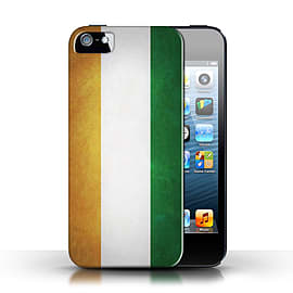 STUFF4 Case/Cover for Apple iPhone SE / Ivory Coast Design / Flags Collection Mobile phones