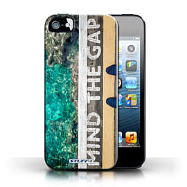 STUFF4 Case/Cover for Apple iPhone SE / Mind The Gap Design / Imagine It Collection Mobile phones