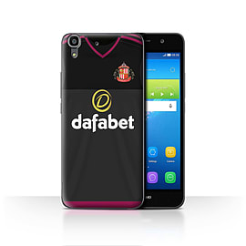 Official Sunderland AFC Case/Cover for Huawei Y6/Goalkeeper Design/SAFC Away Shirt/Kit 15/16 Mobile phones