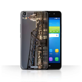 STUFF4 Case/Cover for Huawei Y6 / London's Burning Design / Imagine It Collection Mobile phones