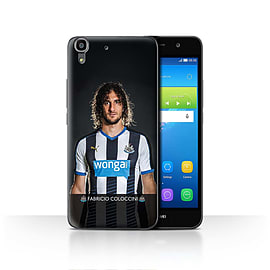 Official Newcastle United FC Case/Cover for Huawei Y6/Coloccini Design/NUFC Football Player 15/16 Mobile phones