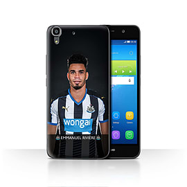 Official Newcastle United FC Case/Cover for Huawei Y6/Rivi?re Design/NUFC Football Player 15/16 Mobile phones