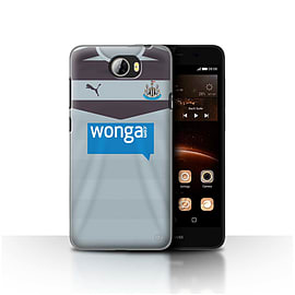 Newcastle United FC Case/Cover for Huawei Y5II/Y5 2/Goalkeeper Design/NUFC Away Shirt/Kit 15/16 Mobile phones