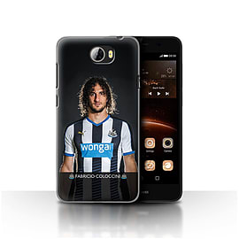 Newcastle United FC Case/Cover for Huawei Y5II/Y5 2/Coloccini Design/NUFC Football Player 15/16 Mobile phones