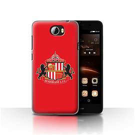 Official Sunderland AFC Case/Cover for Huawei Y5II/Y5 2/Red Design/SAFC Football Club Crest Mobile phones