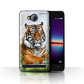 STUFF4 Case/Cover for Huawei Y3II/Y3 2 / Tiger Design / Wildlife Animals Collection Mobile phones