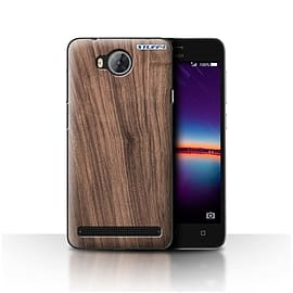 STUFF4 Case/Cover for Huawei Y3II/Y3 2 / Walnut Design / Wood Grain Effect/Pattern Collection Mobile phones