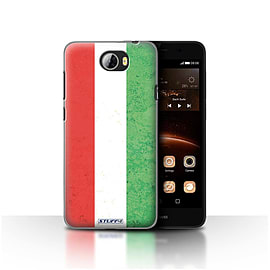 STUFF4 Case/Cover for Huawei Y5II/Y5 2 / Hungary/Hungarian Design / Flags Collection Mobile phones