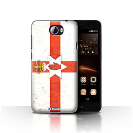 STUFF4 Case/Cover for Huawei Y5II/Y5 2 / Northern Ireland Design / Flags Collection Mobile phones