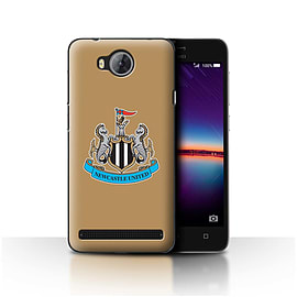 Official Newcastle United FC Case/Cover for Huawei Y3II/Y3 2/Colour/Gold Design/NUFC Football Crest Mobile phones