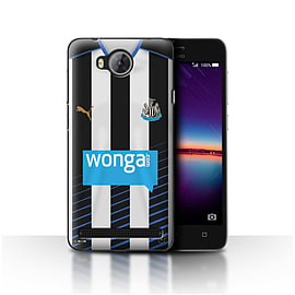 Newcastle United FC Case/Cover for Huawei Y3II/Y3 2/Footballer Design/NUFC Home Shirt/Kit 15/16 Mobile phones