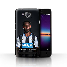 Official Newcastle United FC Case/Cover for Huawei Y3II/Y3 2/Anita Design/NUFC Football Player 15/16 Mobile phones