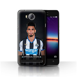 Newcastle United FC Case/Cover for Huawei Y3II/Y3 2/Rivi?re Design/NUFC Football Player 15/16 Mobile phones