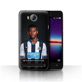 Newcastle United FC Case/Cover for Huawei Y3II/Y3 2/Wijnaldum Design/NUFC Football Player 15/16 Mobile phones
