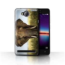 STUFF4 Case/Cover for Huawei Y3II/Y3 2 / Elephant Design / Wildlife Animals Collection Mobile phones