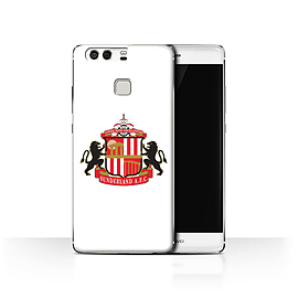 Official Sunderland AFC Case/Cover for Huawei P9/White Design/SAFC Football Club Crest Mobile phones