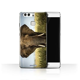 STUFF4 Case/Cover for Huawei P9 / Elephant Design / Wildlife Animals Collection Mobile phones