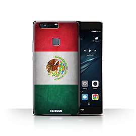 STUFF4 Case/Cover for Huawei P9 Plus / Mexico/Mexican Design / Flags Collection Mobile phones