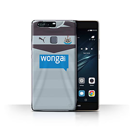 Newcastle United FC Case/Cover for Huawei P9 Plus/Goalkeeper Design/NUFC Away Shirt/Kit 15/16 Mobile phones