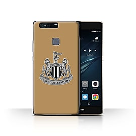 Official Newcastle United FC Case/Cover for Huawei P9 Plus/Mono/Gold Design/NUFC Football Crest Mobile phones