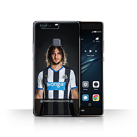 Newcastle United FC Case/Cover for Huawei P9 Plus/Coloccini Design/NUFC Football Player 15/16 Mobile phones