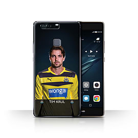 Official Newcastle United FC Case/Cover for Huawei P9 Plus/Krul Design/NUFC Football Player 15/16 Mobile phones
