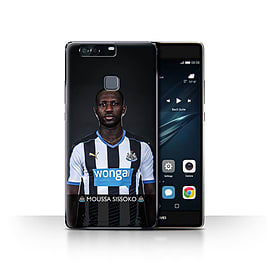 Official Newcastle United FC Case/Cover for Huawei P9 Plus/Sissoko Design/NUFC Football Player 15/16 Mobile phones