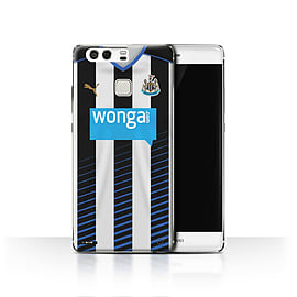 Official Newcastle United FC Case/Cover for Huawei P9/Footballer Design/NUFC Home Shirt/Kit 15/16 Mobile phones